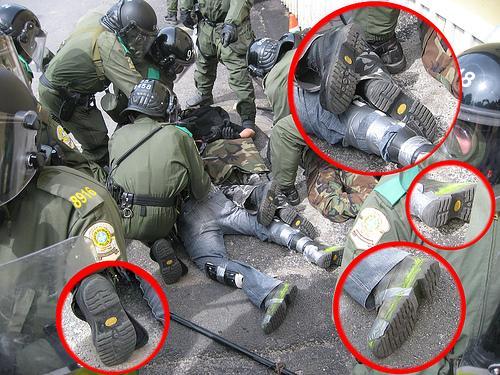 (Vandalismo de bandera falsa) #29M: Mossos infiltrados volvieron a ser descubiertos en el Paseo de Gracia de Barcelona 109162_1