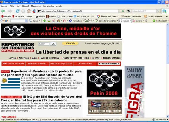 Rebelion cmo reporteros sin fronteras aborda el asesinato for 66180 1