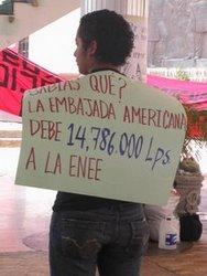 Apoyo a los huelguistas