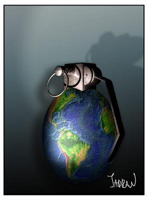 El mundo explotará